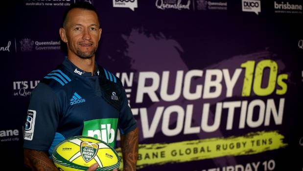 Former All Blacks No.10 Carlos Spencer to play Brisbane Tens