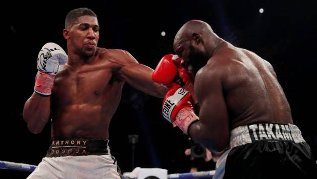 Anthony Joshua To Fight New Zealander's Parker