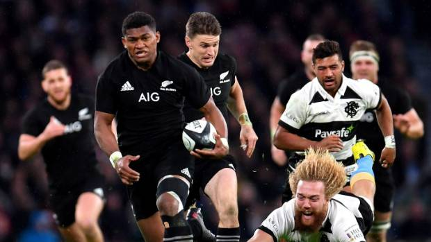 All Blacks withstand France fightback to win in Paris