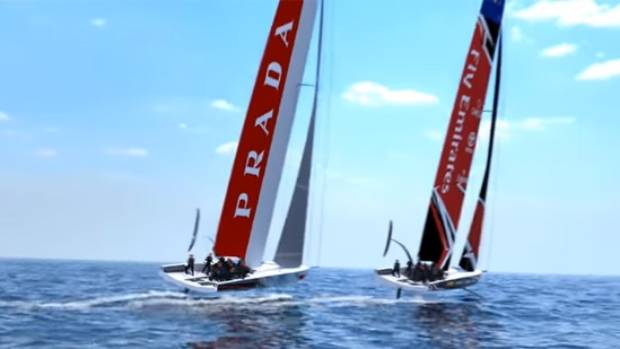 America's Cup goes mono with new AC75 concept