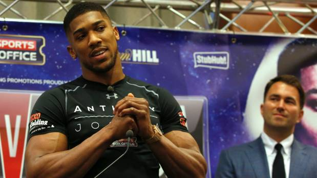 Joseph Parker issues Anthony Joshua demands