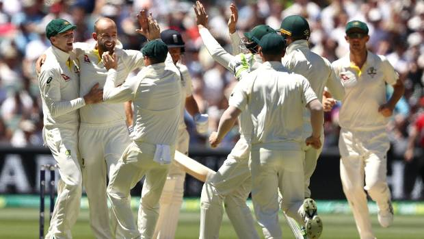 Aussies on track for 2-0 Ashes lead