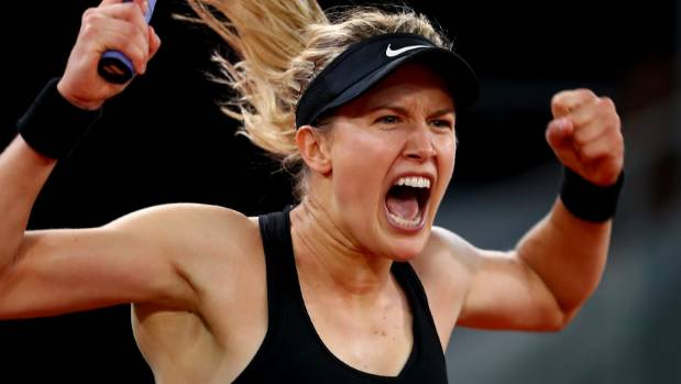 Genie Bouchard still hanging with Twitter Super Bowl bet guy