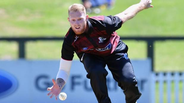 Ben Stokes run out for a duck in New Zealand