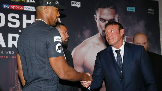 Anthony Joshua explains why opponent thinks he's got a glass chin