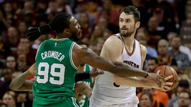 Kevin Love records another double-double Sunday in Cavaliers' win