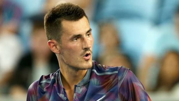 Lleyton Hewitt tears Bernard Tomic a new one