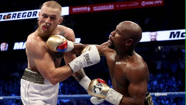 Conor McGregor Doesn't Back Down, Strikes Back At Floyd Mayweather Trolling: