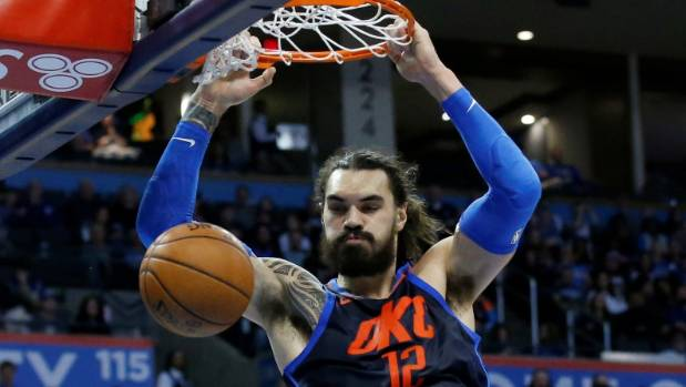 Adams' OKC fall to Lakers again in National Basketball Association