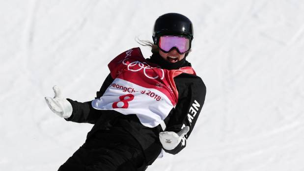 Sadowski Synott wins first gold for New Zealand in Pyeongchang