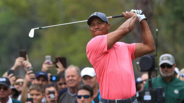 The rookie in front of Tiger Woods has nothing to lose