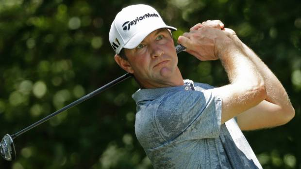 EXCLUSIVE: Golfer Lucas Glover's wife is arrested after 'attacking' him and calling him a 'p***y' and a 'loser' after he played a poor round at PGA Players Championship