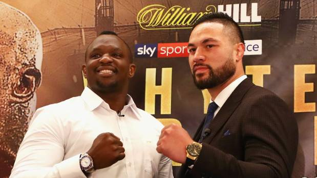 Anthony Joshua predicts knockout defeat for Joseph Parker against Dillian Whyte