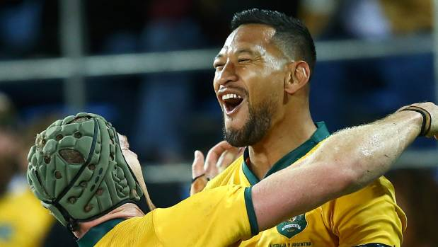 Israel Folau agrees new four-year deal with Wallabies and Waratahs