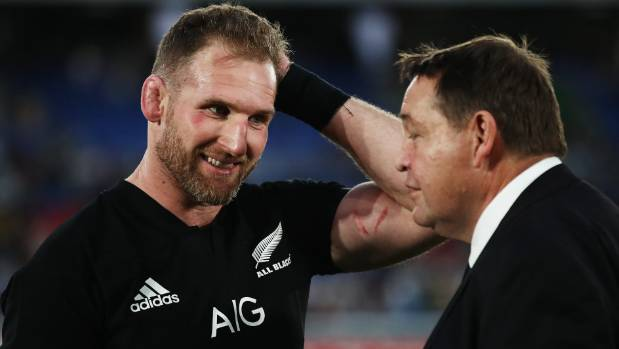 Hansen defends All Blacks captain Read