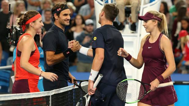 Tennis Perth Roger Federer cruises to win at Hopman Cup