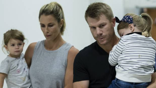 David Warner and wife Candice expecting third child in 2019