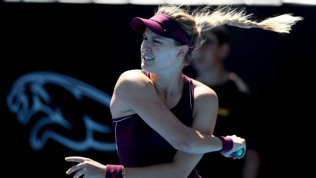 Canada's Eugenie Bouchard ousted from ASB Classic by Julia Goerges