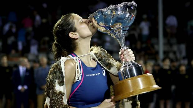 ASB Classic Auckland: Julia Goerges Wins the Title