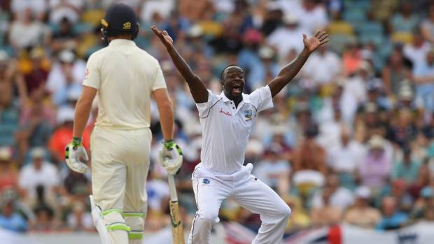 Anderson equals record as West Indies bowled out for 289